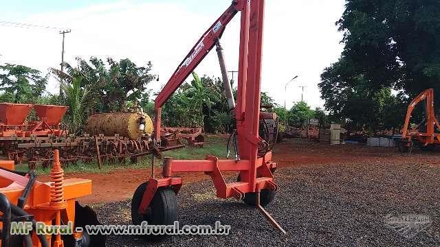 Guincho Big Bag marca Baldan 1.200 kilos, Giratório, Roda Louca, Modelo GTG/RO 1200