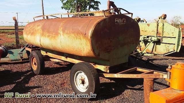Carreta Tanque 4000 Litros Marca Fido ano 99
