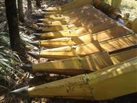 Plataforma de milho New Holland 10 linhas de 50 cm, ano 2000
