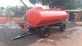 Carreta Tanque 4.200 litros com Bomba