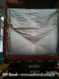 Front líner para transporte em contaíner