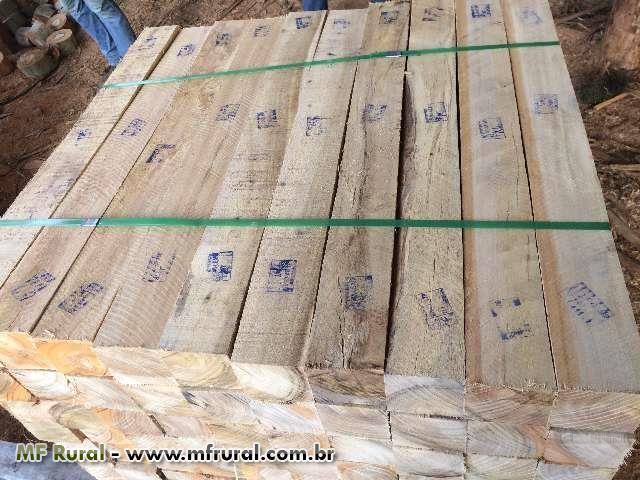 Madeira para Portos Roletes; Bolachas; Cunhas e Barrotes