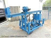 Maquina de Furar Poço Artesiano