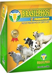 BRASILPHOS + PROBIÓTICO 01 KG (FRETE GRÁTIS ACIMA de 10 KG)