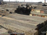 Dormentes de madeiras reciclado