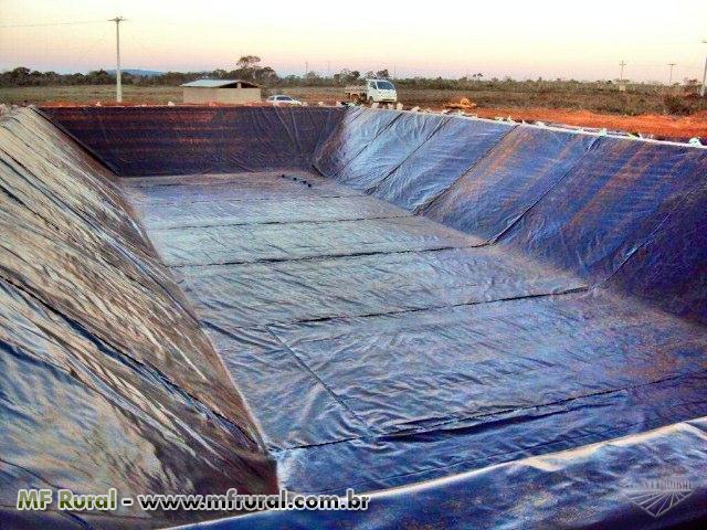 Tanque para irriga o e piscicultura instala es for Piscicultura en tanques plasticos