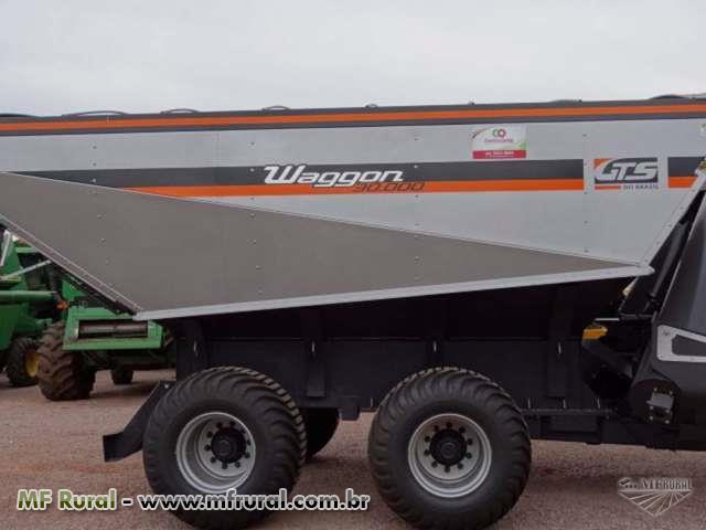 Carreta Graneleira GTS Waggon 30000