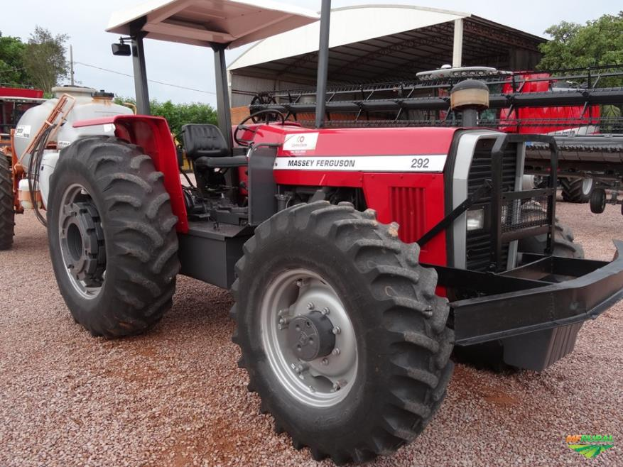 Trator Massey Ferguson 292 4x4 ano 91