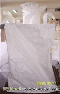 Big Bags 90x90x1,30 válvula superior/válvula inferior com liner
