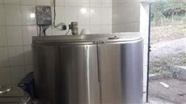 Tanque de leite 3000 Etscheid Seminovo, Aceito troca por veiculo ou gado