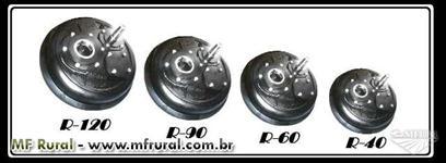 Engrenagem - Coroa e Pinhão - Redutor De Velocidade R40, R60, R90 E R120