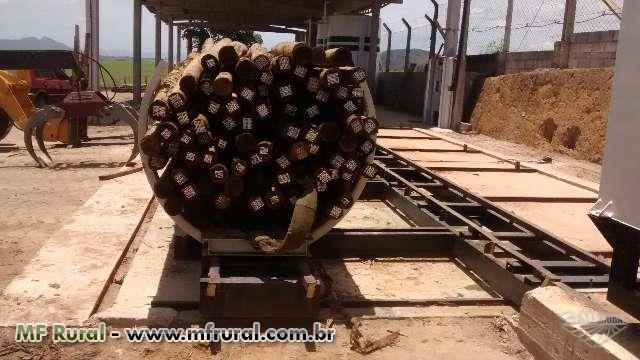 Autoclave tratamento de madeira