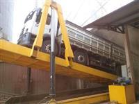 Tombador de grãos para descarga de carretas e caminhões de 40 á 100T