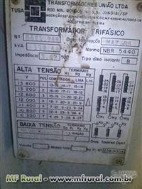 Transformador A Oleo 112.5 Kva 220/127