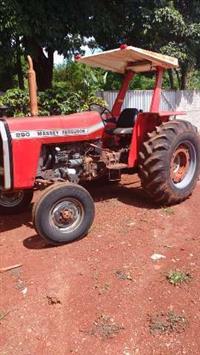 Trator Massey Ferguson 290 4x2 ano 85