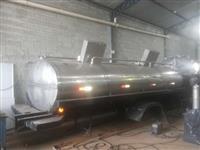 Tanques Rodoviarios inox para Transporte de Leite