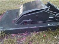 Roçadeira frontal hidrostática mini carregadeira Bob Cat