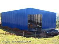 Galpao metalico, estruturas metalicas, coberturas, kit galpao varias medidas