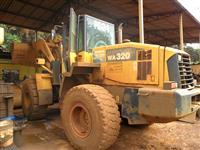 PÁ CARREGADEIRA KOMATSU WA 320 ANO 2008