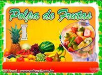 Polpa de frutas direto da fabrica Maracuja, Caja e outras