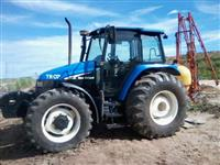 Trator Ford/New Holland TS 110 4x4 ano 02
