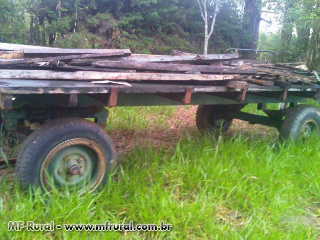 Carreta para transporte de Madeira - Buri/SP