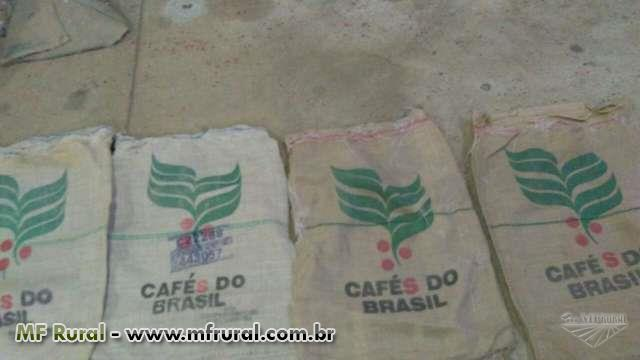 SACARIA DE JUTA P BARRAGENS E SACOS NOVOS PARA CAFE