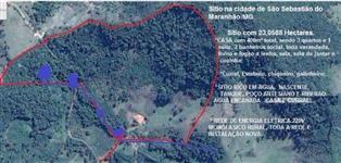 Sitio de 10 Alq RICO em agua