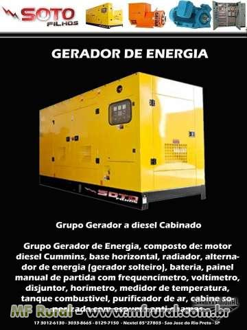 GERADOR AGRICOLA 40 KVA - GERADOR PARA TRATOR 40 KVA - GERADOR TOMADA DE FORCA