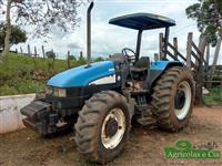 Trator Ford/New Holland TL 85 E (Motor MWM!) 4x4 ano 07