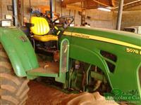 Trator John Deere 5078 E (Único Dono - Ótimo Estado!) 4x4 ano 12