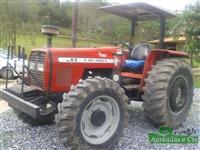 Trator Massey Ferguson 283 (Câmbio 3 Alavancas - Único Dono!) 4x4 ano 04