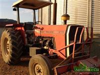 Trator Massey Ferguson 275 (Câmbio 3 Alavancas - Direção Hidráulica!) 4x2 ano 90