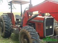 Trator Massey Ferguson 299 (Com Conjunto de Concha Tatu!) 4x4 ano 92