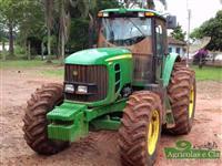 Trator John Deere 6180 J (Apenas 2.600 Horas - Trator de Lavoura!) 4x4 ano 13
