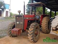 Trator Massey Ferguson 265 (C�mbio 3 Alavancas - Excelente Estado!) 4x4 ano 94