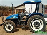 Trator Ford/New Holland TL 75 E (Apenas 3.200 Horas - Motor MWM!) 4x4 ano 07