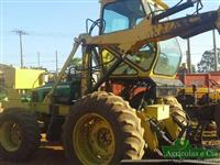Trator Carregadeiras John Deere 6415 (Câmbio Power Quad - Motocana!) 4x4 ano 07