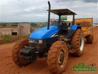 Trator Ford/New Holland TL 75 E (Muito Bom Estado!) 4x4 ano 03