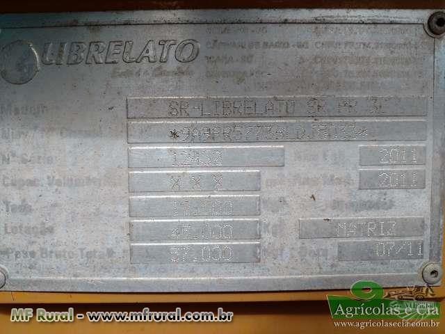 Carreta Prancha Librelato 3 Eixos (Único Dono - Excelente Estado!)