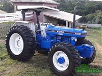 Trator Ford 7610 4x4 ano 89
