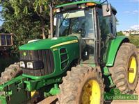 Trator John Deere 6110 J 4x4 ano 13