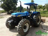 Trator New Holland 7630 4x4 ano 15