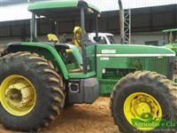 Trator John Deere 7505 4x4 ano 05