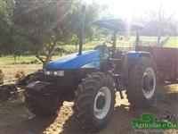 Trator New Holland TL 75 E 4x4 ano 07