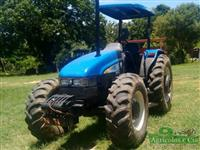 Trator New Holland TL 95 E 4x4 ano 10