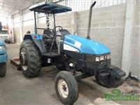 Trator New Holland TL 75 E 4x2 ano 08