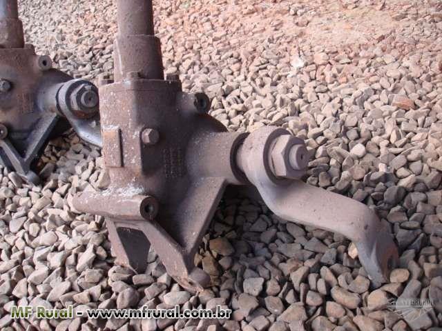 Caixa de direção mecânica trator MF 265 e 275