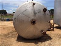Reator em Aço Inox 316 L 15 mil litros