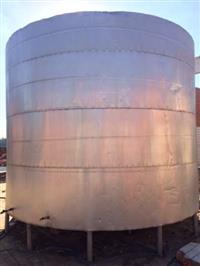 Tanque Aço Inox Aisi 304 Cap. 50000 Litros